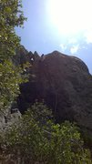Rock Climbing Photo: Vanessa on Spellcaster