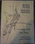 Rock Climbing Photo: The excellent cover of Tom's 1985 guide!