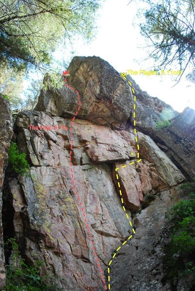 Rock Climbing Photo: Photo/Topo