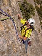Rock Climbing Photo: climbing Directa as Cimas, 5.11a (Riglos, Spain)