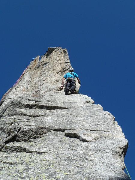 La Albigna (Italian Alps), 5.10c