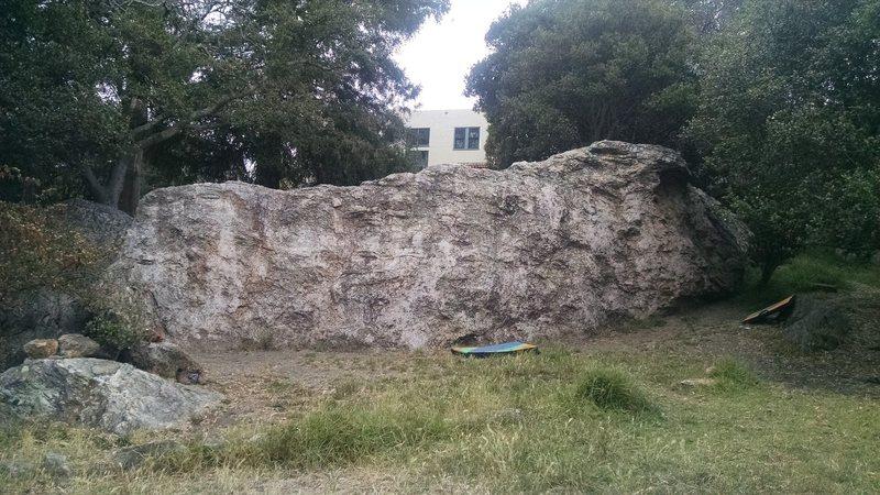 Rock Climbing Photo: The Wall, a fun v4-ish traverse goes across it.