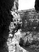 Rock Climbing Photo: Wade on The Inner Ear.