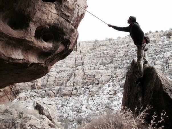 JJ prepping for the fun on Nepotism 5.12, Nepotism Area.