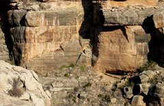 Rock Climbing Photo: The Big Mouth Wall.