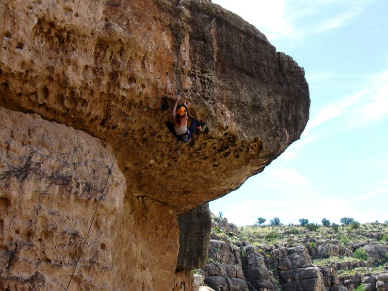 Rock Climbing Photo: Dawn on Big Mouth.