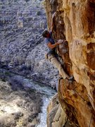 Rock Climbing Photo: JJ and the Open Range.