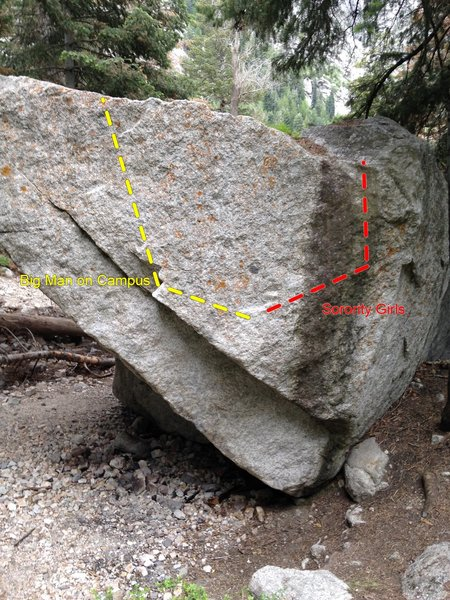 Rock Climbing Photo: Big Man on Campus & Sorority Girls