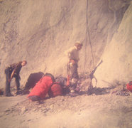 Rock Climbing Photo: FA Mescalito (The End All Wall), Hugh and Charlie ...