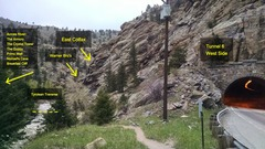 Rock Climbing Photo: East Colfax, next to tunnel 6.