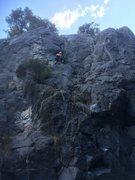 Rock Climbing Photo: mori