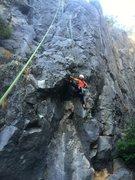 Rock Climbing Photo: the final countdown