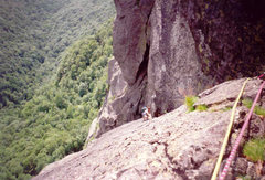 Rock Climbing Photo: The Diagonal climbed in 1995 By Bill and Erich