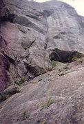 Rock Climbing Photo: The diagnol