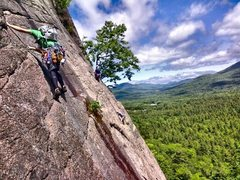 Rock Climbing Photo: Tom sherman on pitch 2