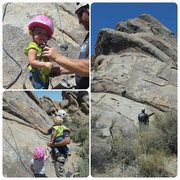 My two girls loved this climb. 4 and 18 months.