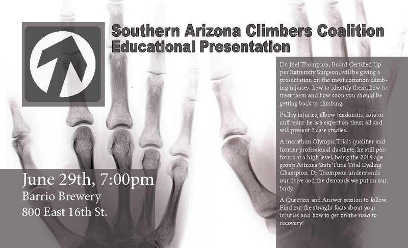 Climbing injuries presentation