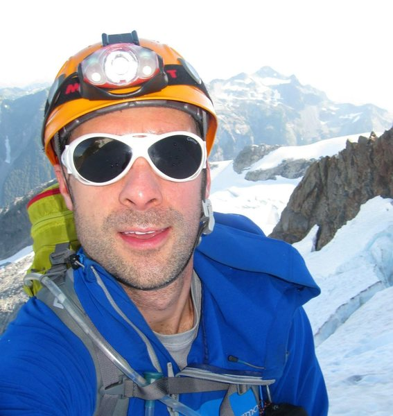Rock Climbing Photo: Me on Price Glacier ascending north side of Shuksa...