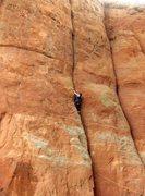 Rock Climbing Photo:  Don Leading Thompson Ladder .