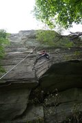 Rock Climbing Photo: Jon on a later ascent.