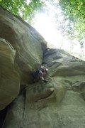 "Rock Climbing Photo: ""Cracka"", short but fun."