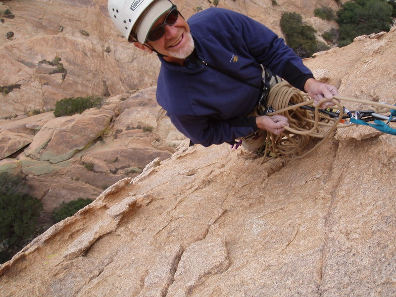 Rock Climbing Photo: Len Shulman