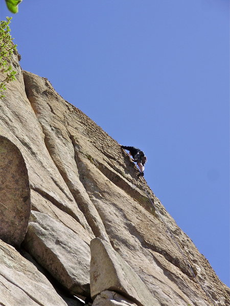 Rock Climbing Photo: Tony Lusk  This is the only pic I could find of To...