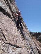 Rock Climbing Photo: Brian Benedon on the FA 5/31/2015 photo credit; Da...