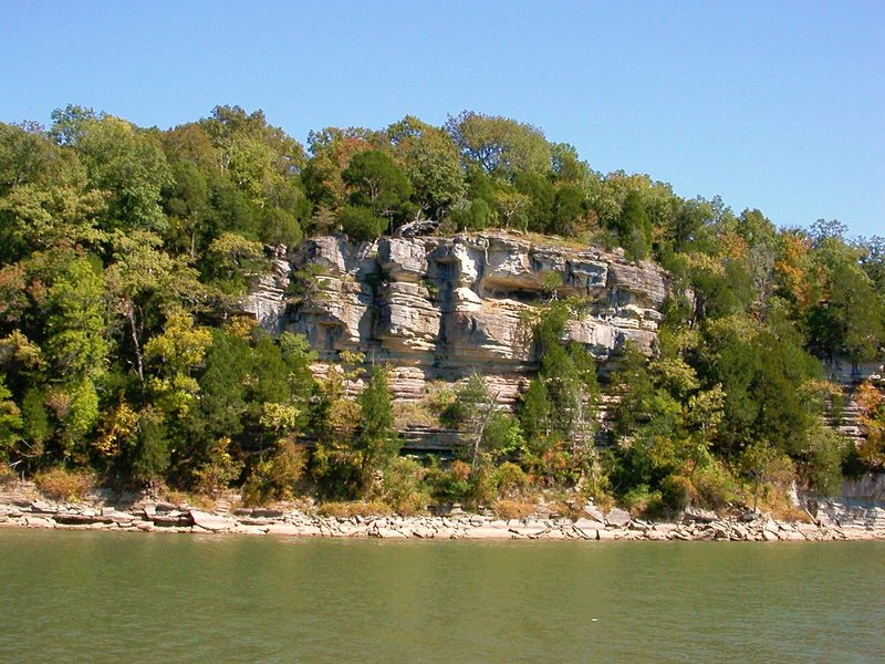 more limestone on tn river near knox