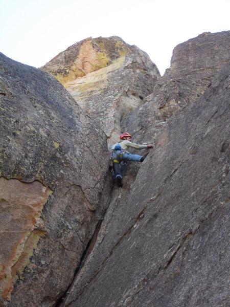Rock Climbing Photo: GK