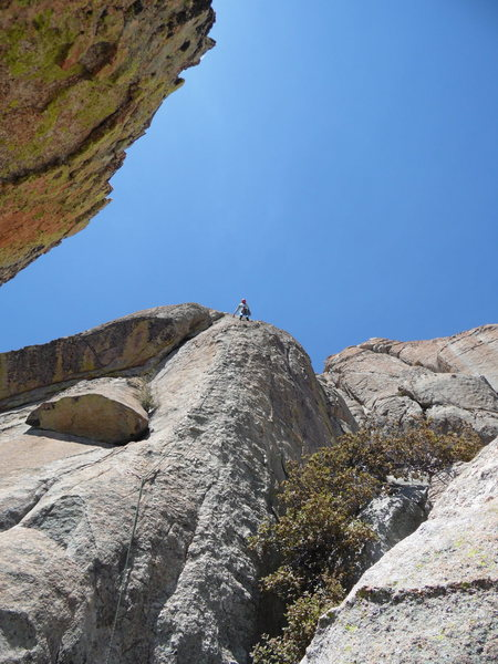 Rock Climbing Photo: Greg K on P-3