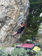 Rock Climbing Photo: Fun starting sequence on The Tiger, V7