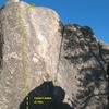 Cruise Control (5.10a), Holcomb Valley Pinnacles
