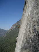 Rock Climbing Photo: Hauling on El Cap
