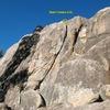 Bear's Choice (5.6), Holcomb Valley Pinnacles