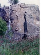 Rock Climbing Photo: Ladder line back in the day - September, 1988.