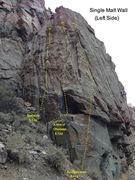 Rock Climbing Photo: The left side of the Single Malt Wall