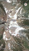 Rock Climbing Photo: Location of southeast spur route on the mountain, ...