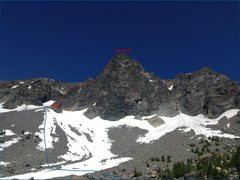 Rock Climbing Photo: a more recent photo of the route (June 2015). best...