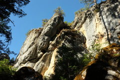 Rock Climbing Photo: epitaph buttress area of yellow wall