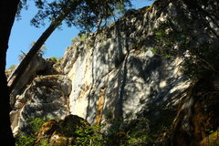 Rock Climbing Photo: yellow wall
