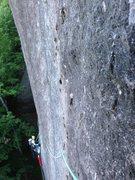 Rock Climbing Photo: Pitch 2 of Mordor Wall