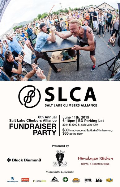 Rock Climbing Photo: SLCA 2105 FUNDRAISER