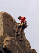 Rock Climbing Photo: Rappelling with Milfred in Acadia...
