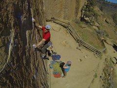 Rock Climbing Photo: Gumby?