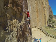 Rock Climbing Photo: Climbed a route that matches the description for &...