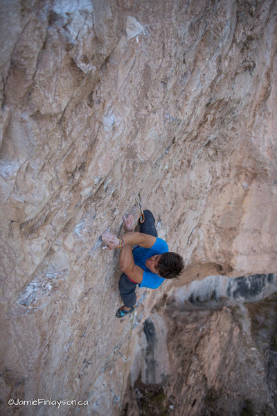 Rock Climbing Photo: Hogwarts: Imperio Direct (5.13a)