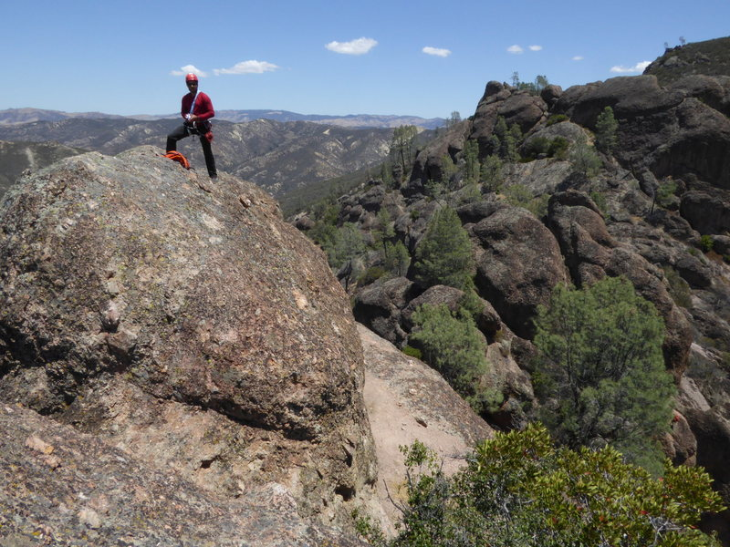 Rock Climbing Photo: Machete Ridge View