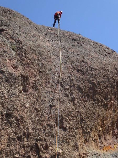 Machete Ridge Rappel