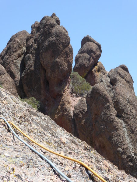 Rock Climbing Photo: Interesting Rock Formations